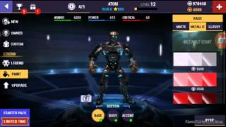 getlinkyoutube.com-Real Steel champions hacked gameplay