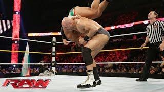 getlinkyoutube.com-Cesaro vs. Rusev: Raw, Sept. 14, 2015