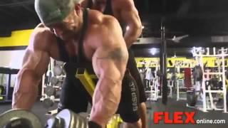 getlinkyoutube.com-Flex Lewis High Intense Back Workout