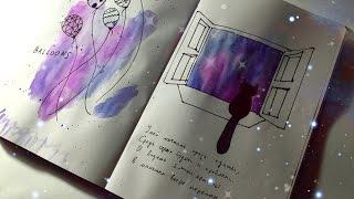 getlinkyoutube.com-Идеи для личного дневника ( ЛД ) / Разворот: мечта