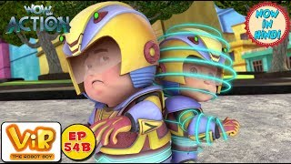 Vir: The Robot Boy | Bunty the robot boy | As Seen On HungamaTV | WowKidz Action