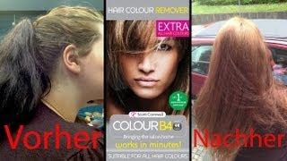 """getlinkyoutube.com-Dunkel GEFÄRBTE Haare aufhellen? Haarfarbenentferner """"ColourB4"""""""
