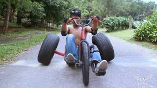 getlinkyoutube.com-Drift Trike - Pitzine Camp Free Ride (PDT)