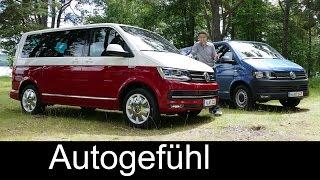 getlinkyoutube.com-All-new Volkswagen VW Transporter Multivan T6 FULL REVIEW test driven 2016 passenger & commercial