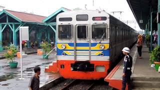 getlinkyoutube.com-Stasiun Manggarai di malam hari 夕方のジャカルタ・マンガライ駅