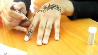 getlinkyoutube.com-henna for beginners: episode 1/10