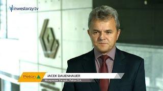 Jacek Dauenhauer, Prezes Zarządu Pelion S.A., #6 PREZENTACJE WYNIKÓW