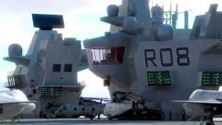 getlinkyoutube.com-HMS Queen Elizabeth Class Aircraft Carriers CGI Animated Movie