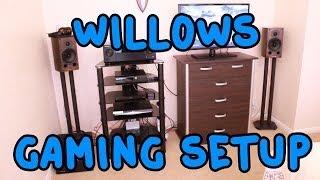 getlinkyoutube.com-Willow's NEW Gaming Setup 2014