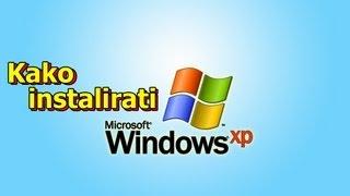 getlinkyoutube.com-Kako instalirati Windows XP