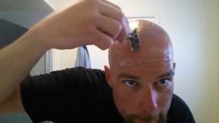 getlinkyoutube.com-Head Shave w/ Double Edge Tutorial