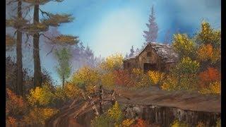 getlinkyoutube.com-Autumm Barn Wet on Wet Painting Tutorial