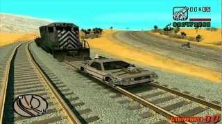 getlinkyoutube.com-GTA San Andreas - Back to the Future Mod - Train Scene (1080p HD)