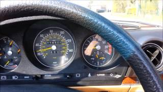 getlinkyoutube.com-Mercedes-Benz 380 SL - R107 - DRIVING CLIP