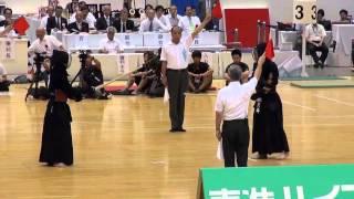 getlinkyoutube.com-梅ヶ谷翔 奇跡の11人抜き 2013玉竜旗高校剣道大会