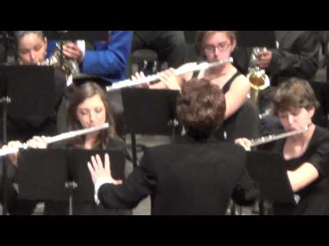 Tri-State Band Festival Concert, 2013. Second selection