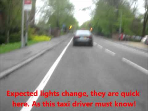 LT06 UGL Panther Taxi License 102 Close Impatient Overtake