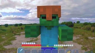 getlinkyoutube.com-Top 6 Minecraft In Real Life Animations Compilation / Real Life Mario Animations