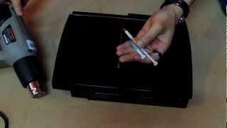 getlinkyoutube.com-اصلاح مشكلة اللمبة الصفراء  بلاي ستيشن 3  Reform PS3 HD