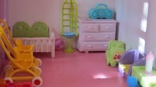 getlinkyoutube.com-Tour: Casa de Muñecas Barbie / Barbie's doll house tour