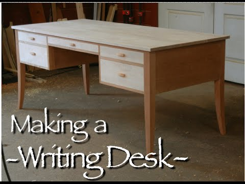 Writing Desk Building Process by Doucette and Wolfe Furniture Makers