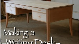 getlinkyoutube.com-Writing Desk Building Process by Doucette and Wolfe Furniture Makers