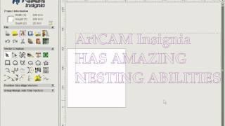 getlinkyoutube.com-ARTCAM operating video - Nesting