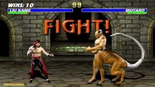 getlinkyoutube.com-Mortal Kombat 3 Liu Kang Gameplay Playthrough