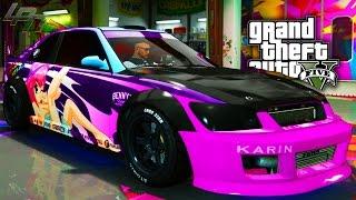 getlinkyoutube.com-GTA V ONLINE - UPDATE: EPIC KARIN SULTAN RS TUNING!!