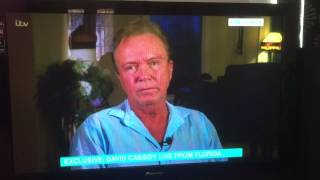 getlinkyoutube.com-David Cassidy Live Interview - This Morning