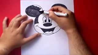 getlinkyoutube.com-Como dibujar a Mickey Mouse paso a paso - Disney | How to draw Mickey Mouse - Disney
