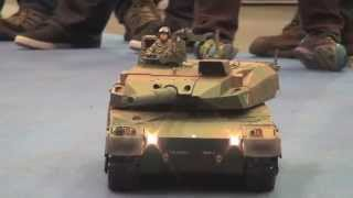 getlinkyoutube.com-タミヤ 1/16 RC 陸上自衛隊 10式戦車デモンストレーション走行