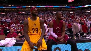 getlinkyoutube.com-Dwyane Wade Duels with LeBron James in Return to Miami
