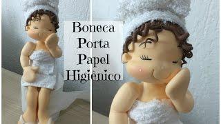getlinkyoutube.com-Laura Biscuit - Boneca Porta Papel Higiênico