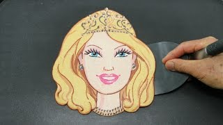 getlinkyoutube.com-Making Barbie Doll PANCAKE