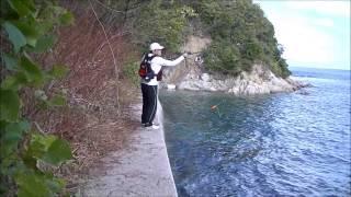 getlinkyoutube.com-衝撃!見過ごされる島の釣り場で実釣!