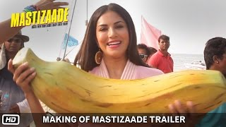 getlinkyoutube.com-Making of Mastizaade Trailer | Sunny Leone, Tusshar Kapoor and Vir Das