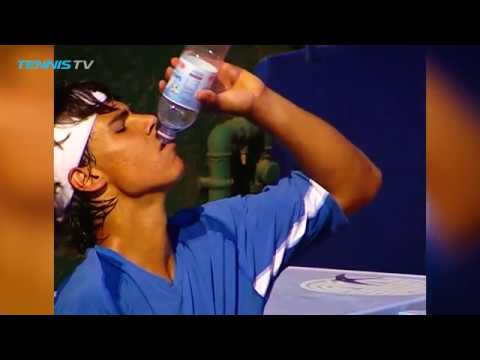 16-year-old Rafa Nadal`s FIRST-EVER Monte-Carlo match in 2003