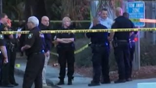 Florida authorities say 1 police officer shot and killed