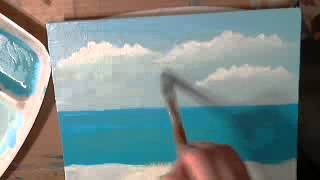 getlinkyoutube.com-How to Paint a Seascape with Acrylics