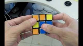 getlinkyoutube.com-Solve The Rubiks Cube With 2 Moves!