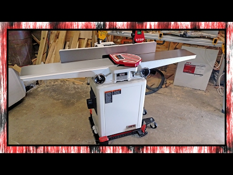 Video showing the assembly of the JET 6 inch jointer Youtube Thumbnail