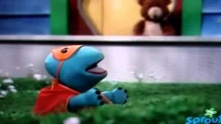 getlinkyoutube.com-Caillou Puppets   Super Rexy