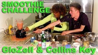 getlinkyoutube.com-Smoothie Challenge - GloZell & Collins Key