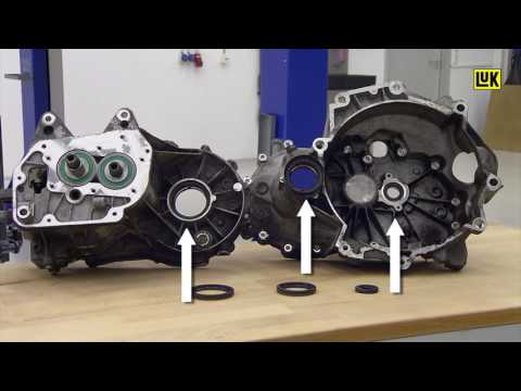 LuK GearBOX repair solution for VW 02T transmission