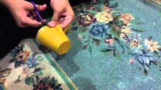 getlinkyoutube.com-How to make flowers from plastic glasses