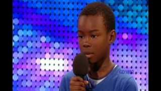 getlinkyoutube.com-!!9-YR-OLD BOY 'MALAKI PAUL' SINGS 'BEYONCE'S' 'LISTEN' ON 'BRITAIN'S GOT TALENT'!!