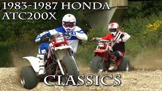 getlinkyoutube.com-1983 1987 Honda ATC200X Classics Test