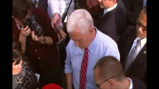 Vice President Mike Pence Given Yarmulke During Jewish Cemetery Clean up in St. Louis