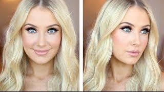 getlinkyoutube.com-Glam Glitter & Glowing Skin Tutorial